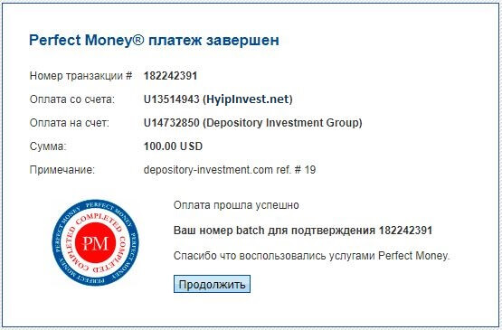 Depositоry Investment Group - depository-investment.com