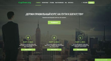 cryp Town org hyip monitoring