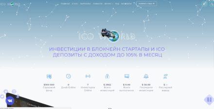 Ico World Company Высокодоходный хайп проект партизан