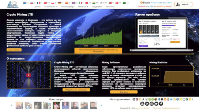 Сrypto Mining LTD Хайп Мониторинг